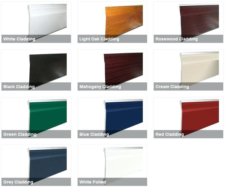 Ogee Gutter Colours